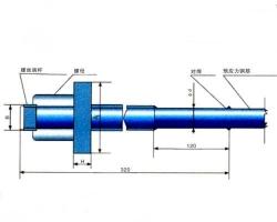 LM型螺丝端杆锚具